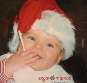 Nikolaus meets Baby Jesus - www.expatmamas.de - Weihnachten England