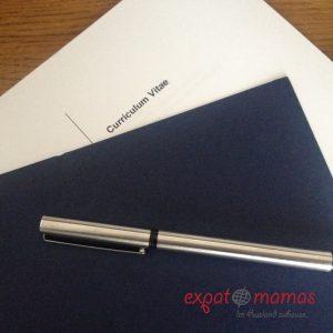 Expat-Leben: Wohin mit der Expatmama-Zeit im Lebenslauf - Gastbeitrag Dagmar Gumnior Personal und Text