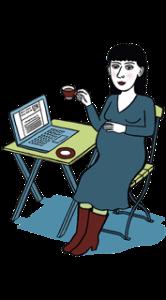 Eine Hebamme per Skype - www.expatmamas.de - Call-a-midwife Berlin Interview mit Sabine Kroh