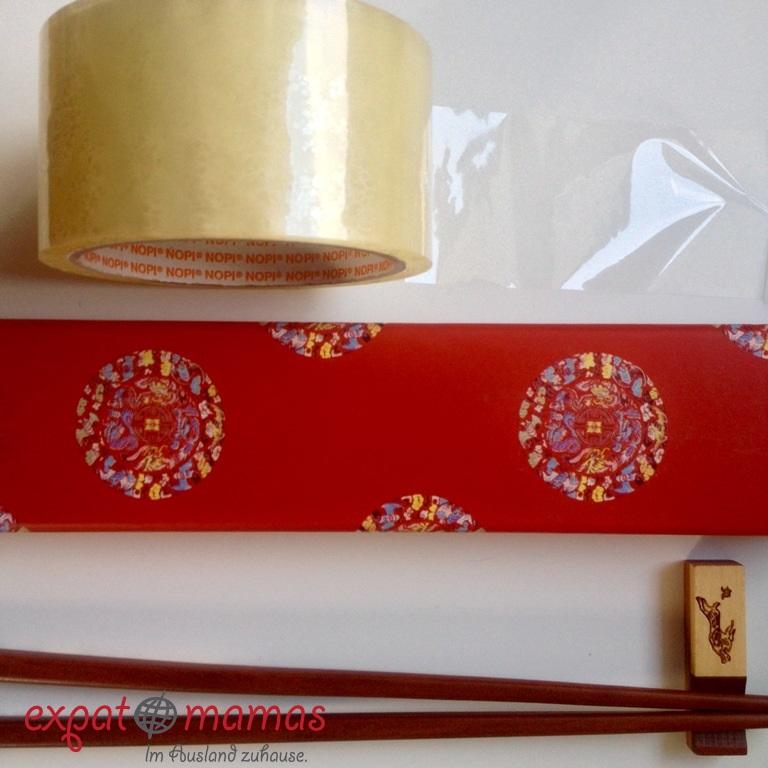 Glückskeks: Klebeband sei Dank - www.expatmamas.de/ - #lebeninchina #expatmamas #imauslandzuhause