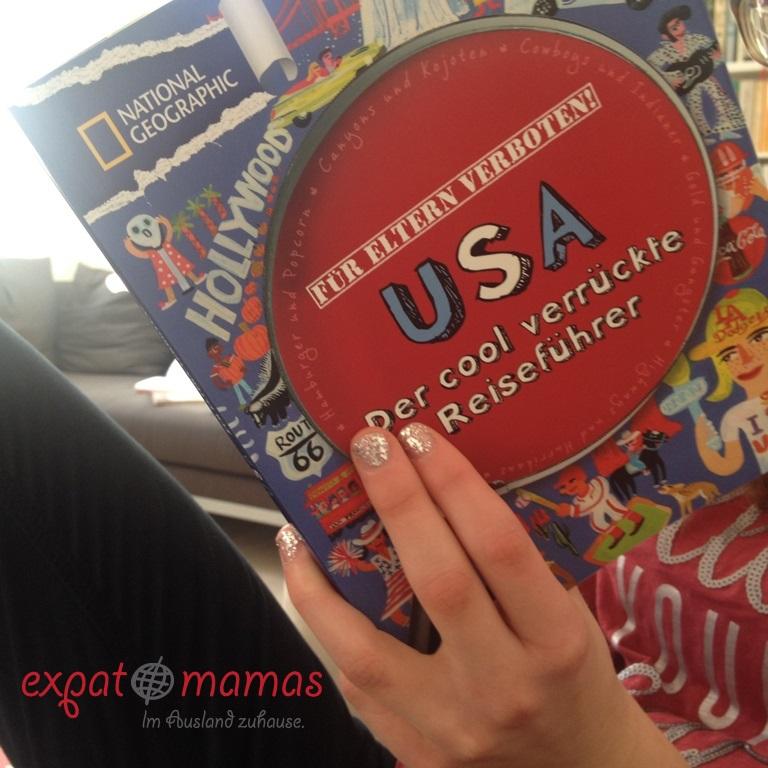 USA - der cool verrückte Reiseführer - www.expatmamas.de/ - #lebenindenusa #buchtipp #expatmamas