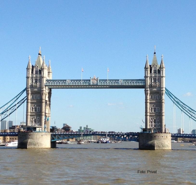Zurück aus ... England - www.expatmamas.de - Tower Bridge London