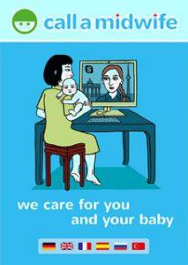Eine Hebamme per Skype - www.expatmamas.de - Call-a-midwife Berlin