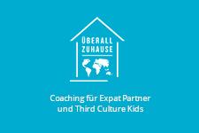 Logo Überall zu Hause - www.expatmamas.de