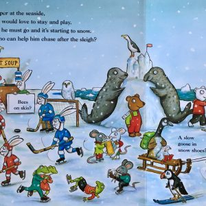 The Christmas Bear - www.expatmamas.de - #Buchtipp #AxelScheffler #Weihnachten #EnglischeKinderbücher