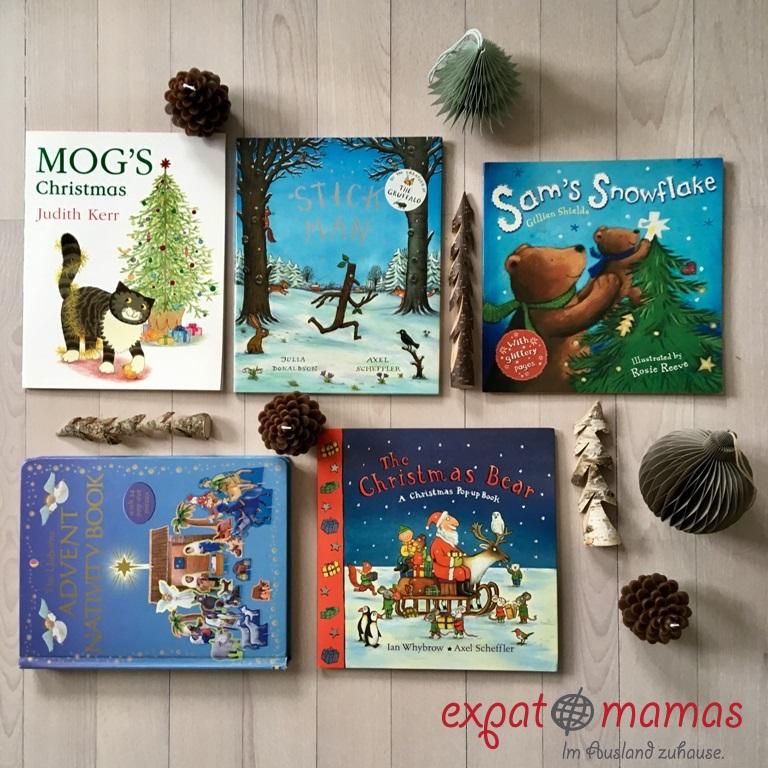 Unsere 5 liebsten englischen Weihnachtsbücher - www.expatmamas.de/blog/ - #England #Weihnachten #Kinderbücher #Buchtipps