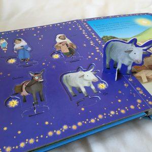 Usborne Advent Nativity Book - www.expatmamas.de - #Buchtipp #Weihnachten #Advent #EnglischeKinderbücher