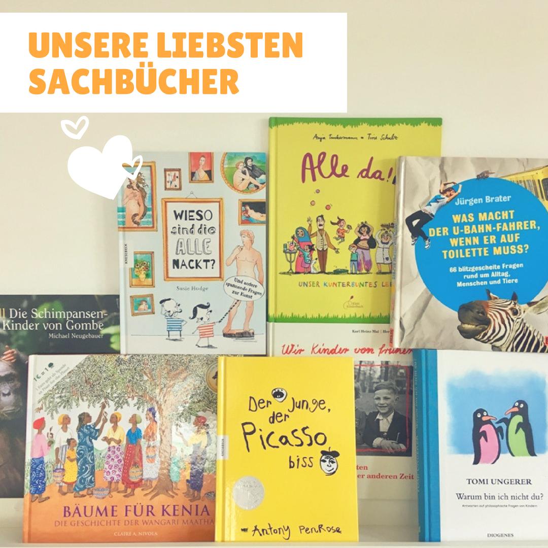 Unsere liebsten Sachbücher - www.expatmamas.de/expatmamas-blog/ - #buchtipps #sachbücher #kinderbuch