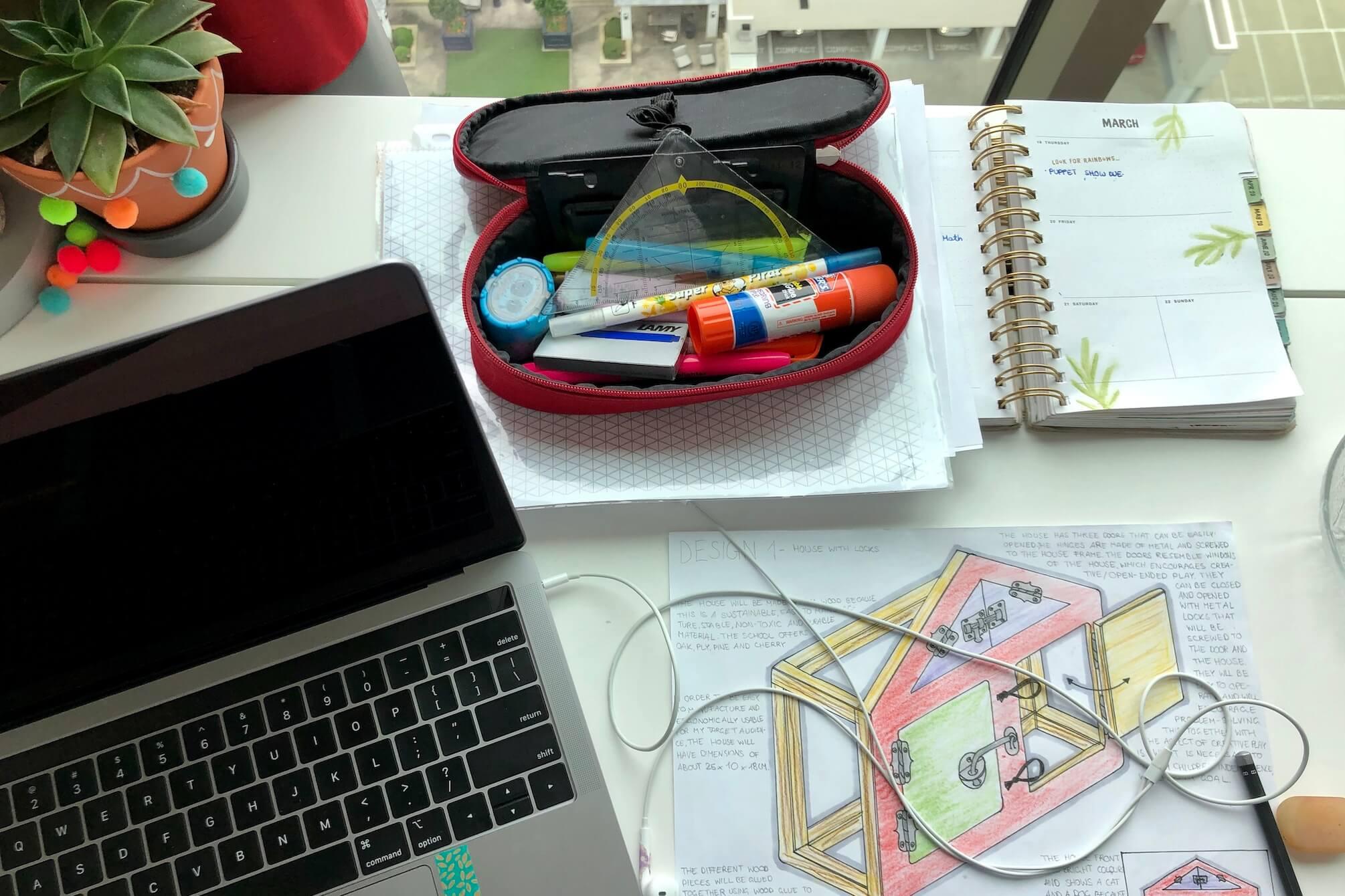 Unser Start ins virtuelle Schulleben - www.expatmamas.de/blog/ - #imauslandzuhause #expatmamas #virtuelleschule