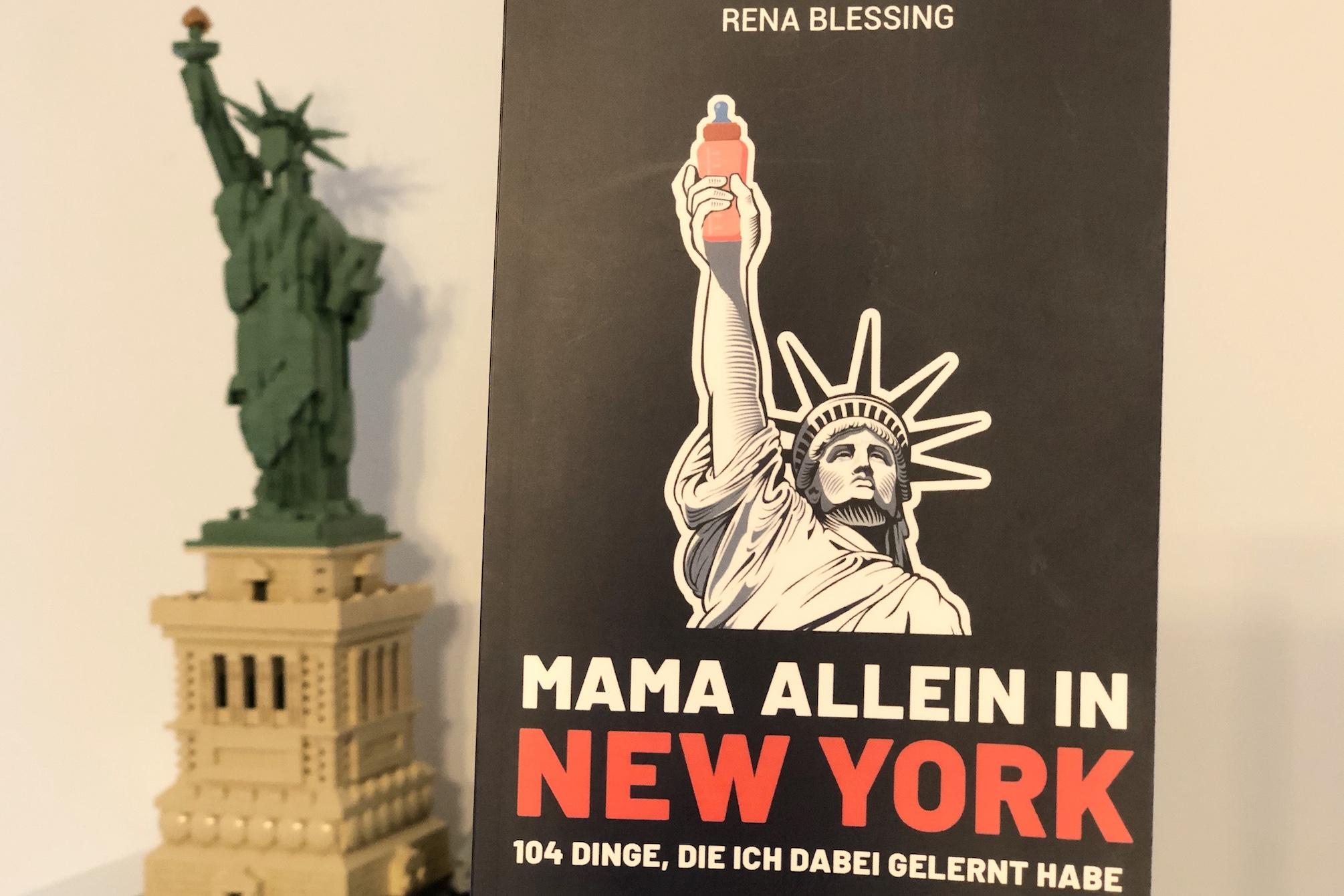 Frisch gelesen: Mama allein in New York - www.expatmamas.de/blog #expatmamas #buchtipp